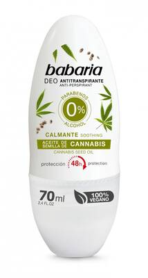Babaria dezodorant roll-on Konopie Cannabis 70ml
