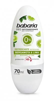 Babaria dezodorant roll-on Limonka i Bergamotka 70ml