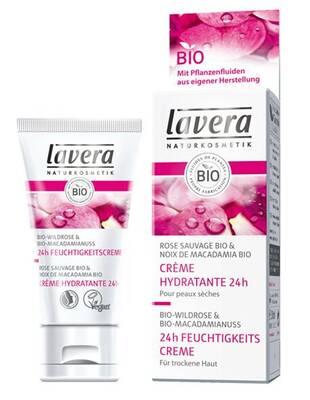 84a5cac855d9a9 Lavera Faces 24h krem nawilżający z wyciągiem z bio-dzikiej róży i bio-orzecha  makadamii 50ml