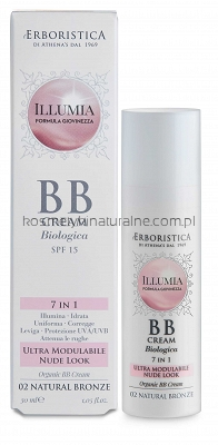 Erboristica Illumia - BB Cream-Col. 02 Natural Bronze SPF15 30ml