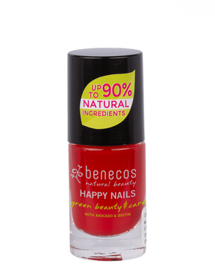 Benecos lakier do paznokci Vintage Red 5ml